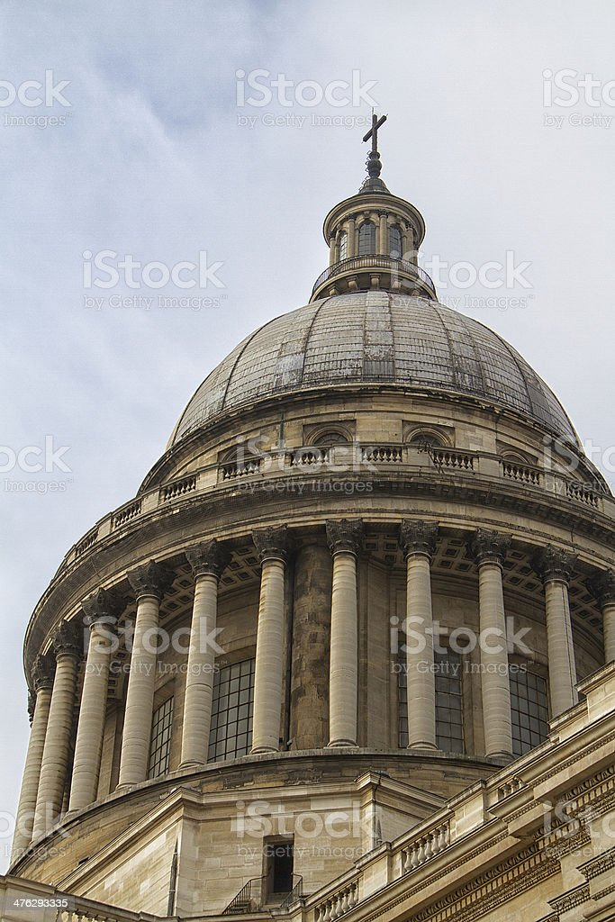 The french pantheon stock photo
