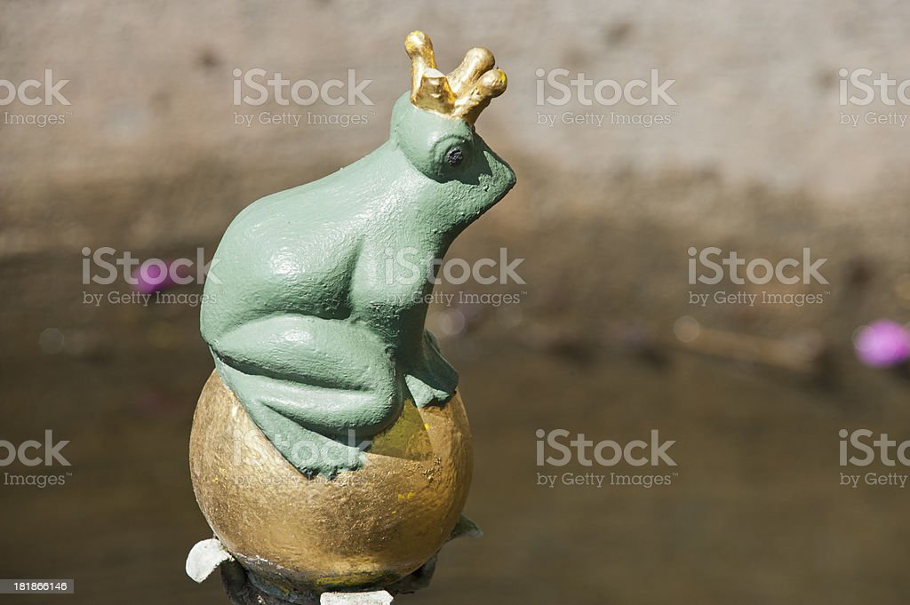 The Frog King, or Iron Heinrich [Grimm Brothers] stock photo