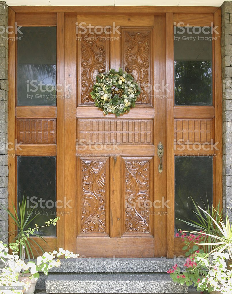 The Front Door royalty-free stock photo