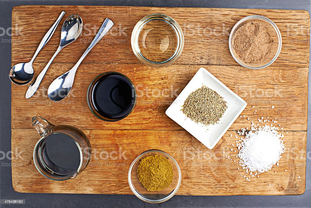 The fun is in the spice stock photo