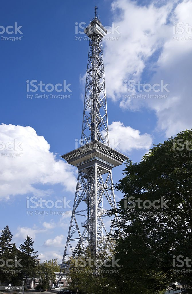 The Funkturm Berlin stock photo