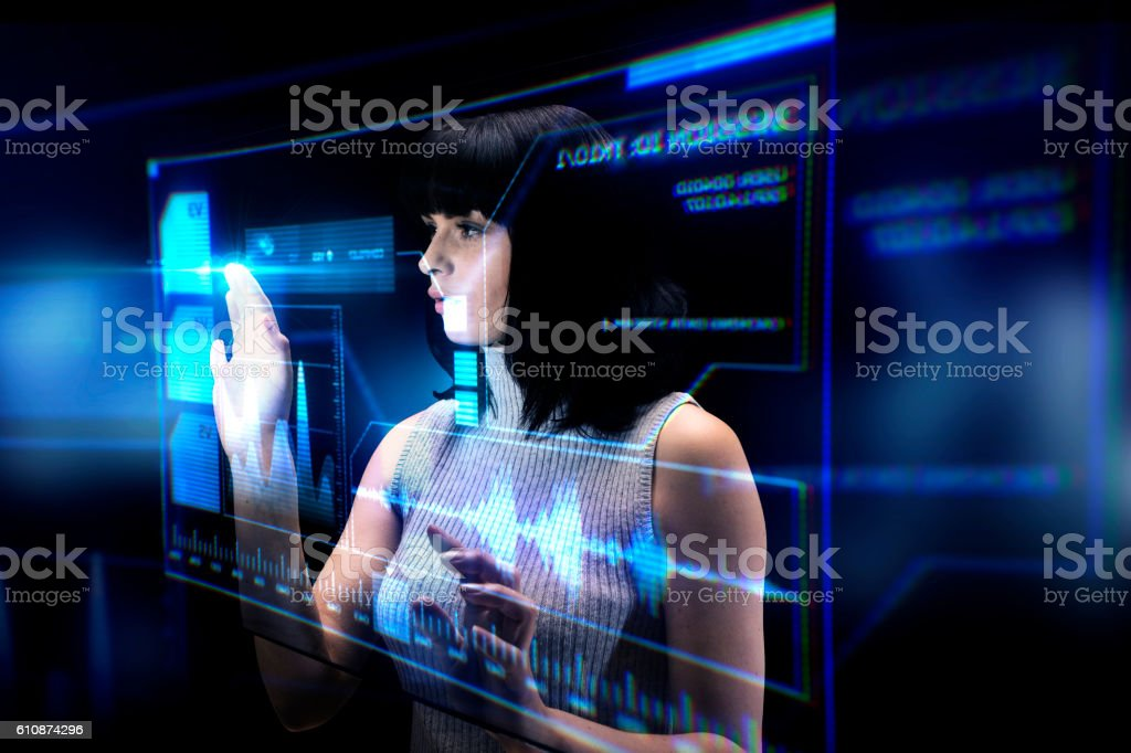 The Future is Here stock photo