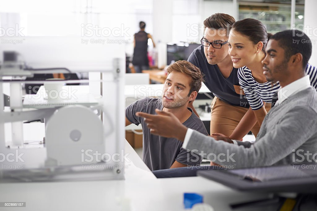 The future is now stock photo