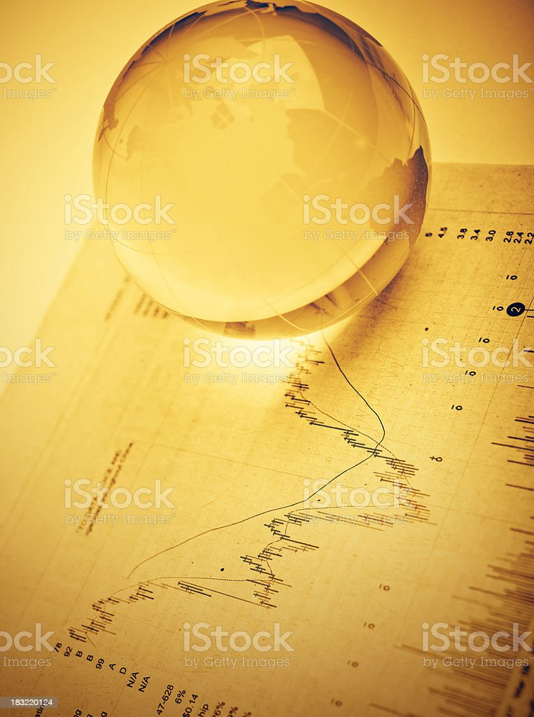 the future looks golden royalty-free stock photo