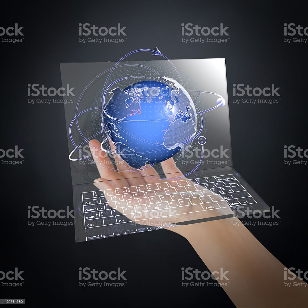 The Future of Global Communication stock photo