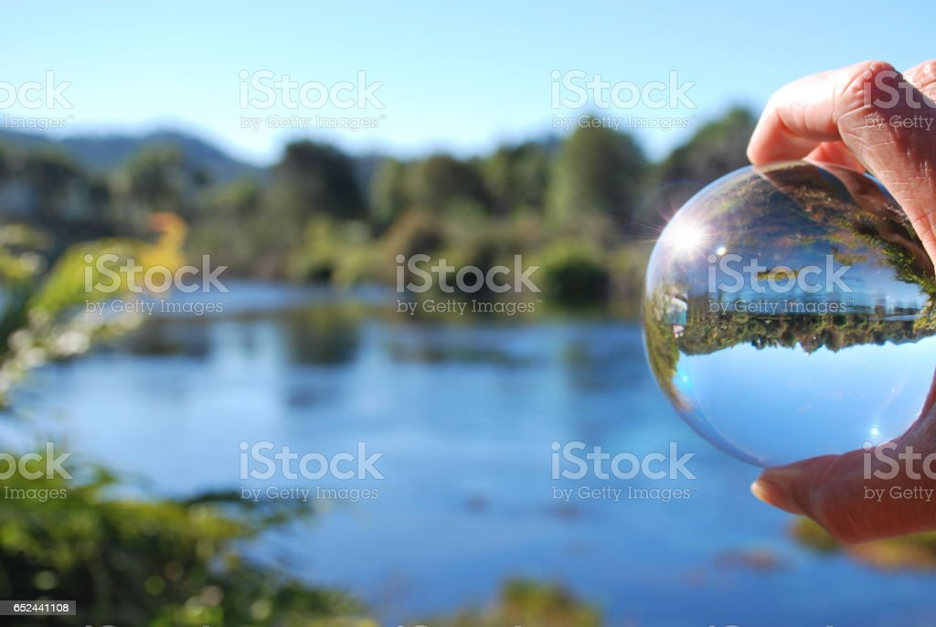 The Future of Pure Water stock photo