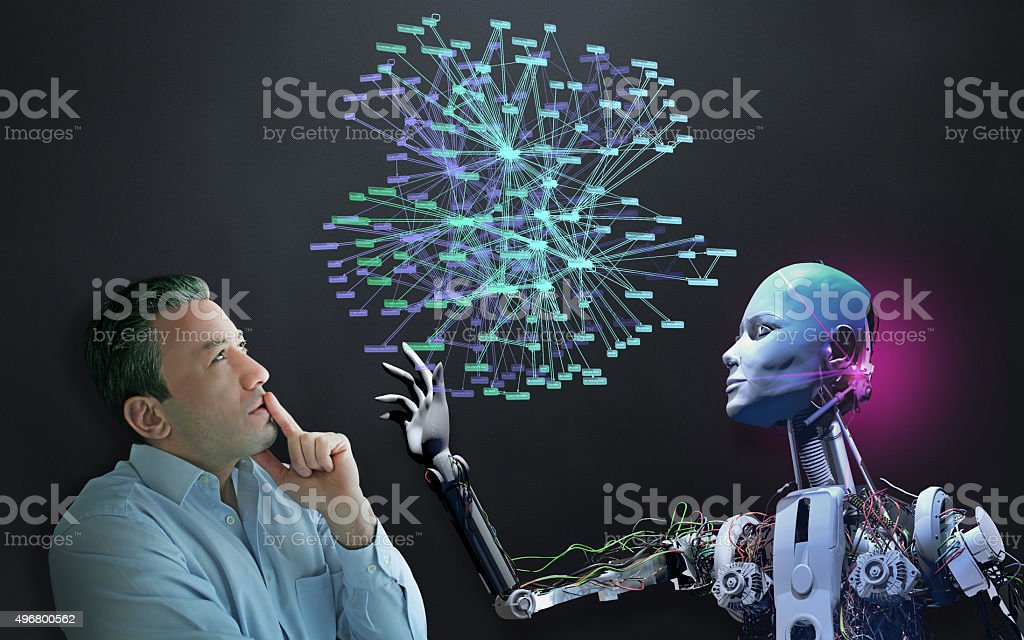 The Future of Social Network stock photo