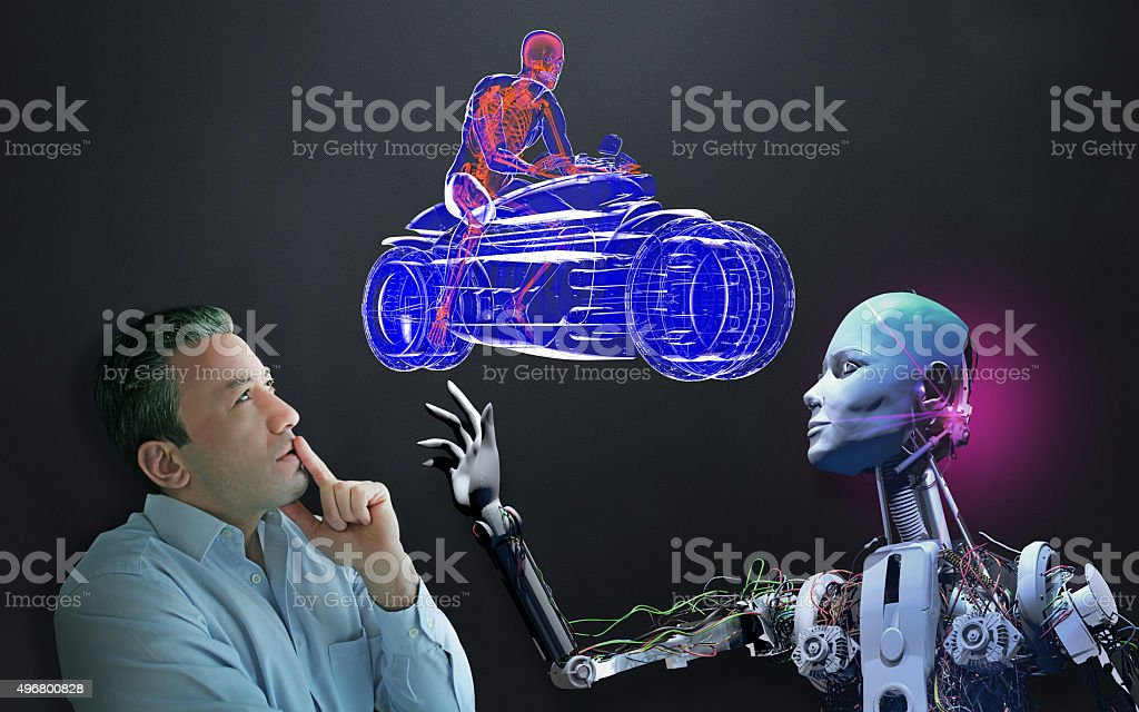 The Future of Transportation stock photo