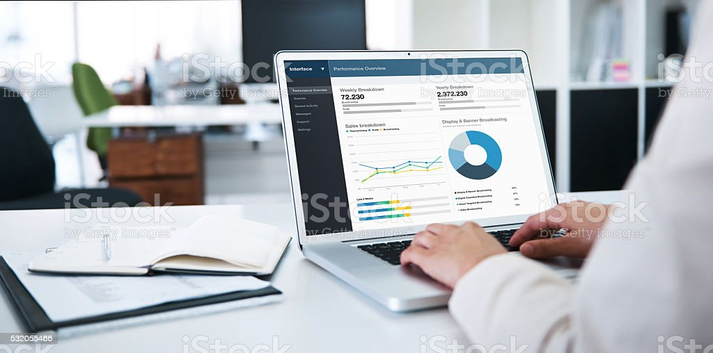 The future of your company is in good hands stock photo