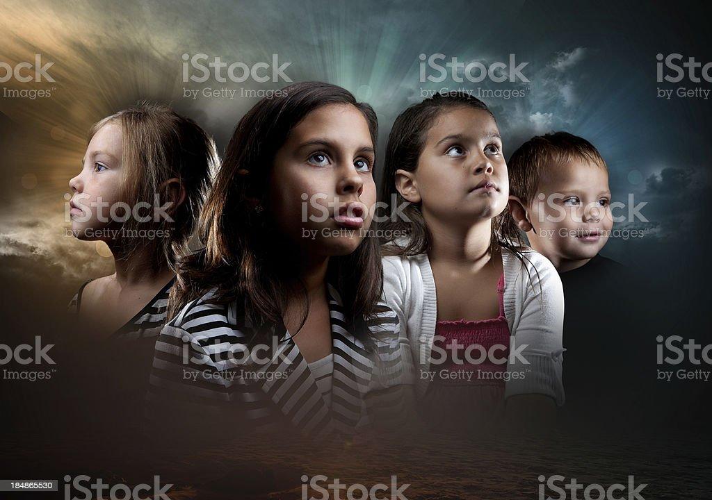 The Future stock photo