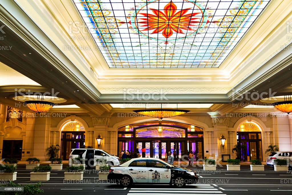 The Galaxy casino in Macao royalty-free stock photo