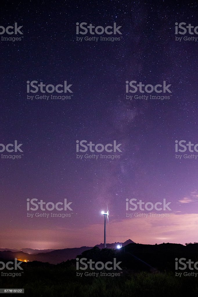 the Galaxy royalty-free stock photo