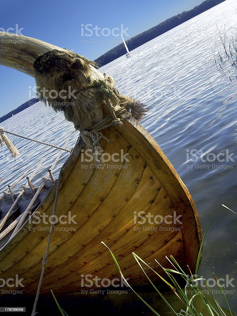 The Gallind`s boat royalty-free stock photo