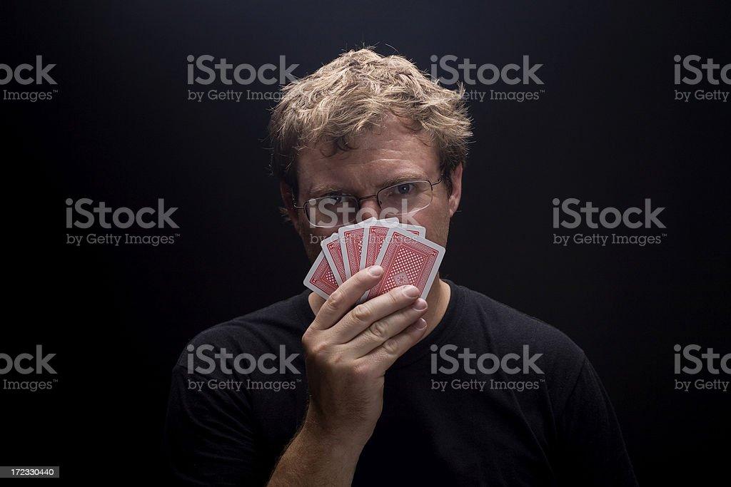 The Gambler royalty-free stock photo