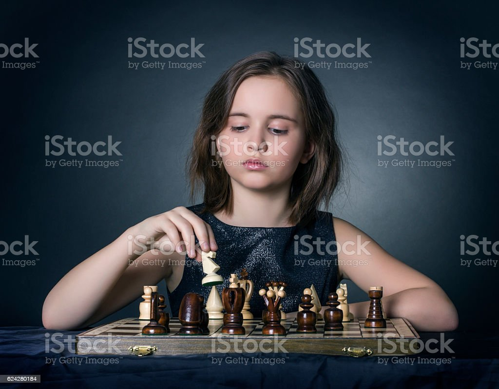 The game of chess royalty-free stock photo