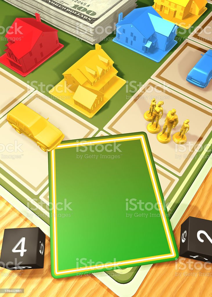 The Game royalty-free stock photo
