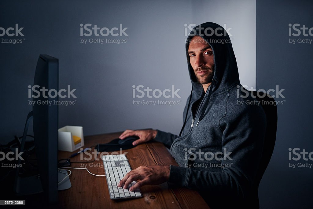 The gamer guy stock photo