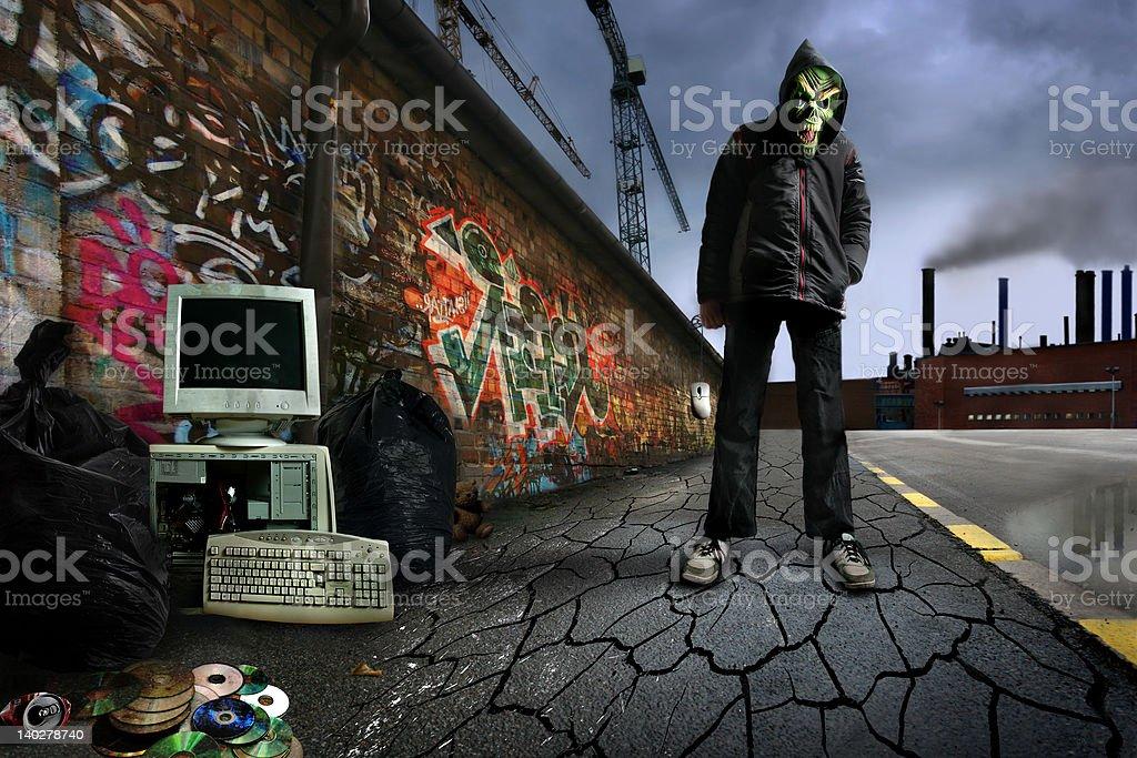 The Gamer stock photo