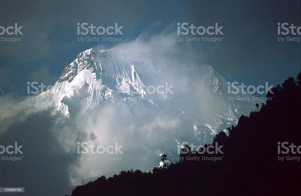 The Ganesh Himal royalty-free stock photo