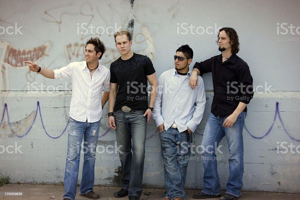 The Gang royalty-free stock photo