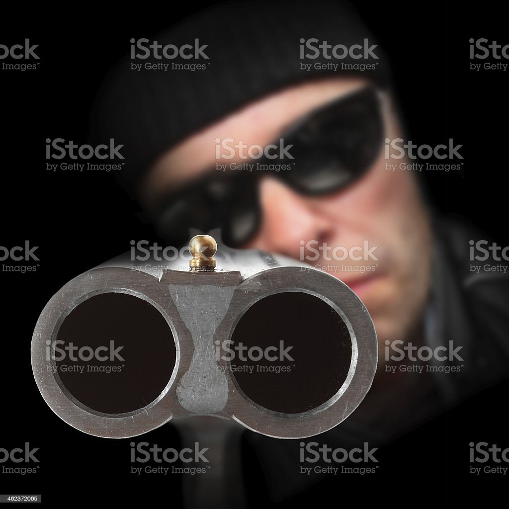 The Gangster. stock photo