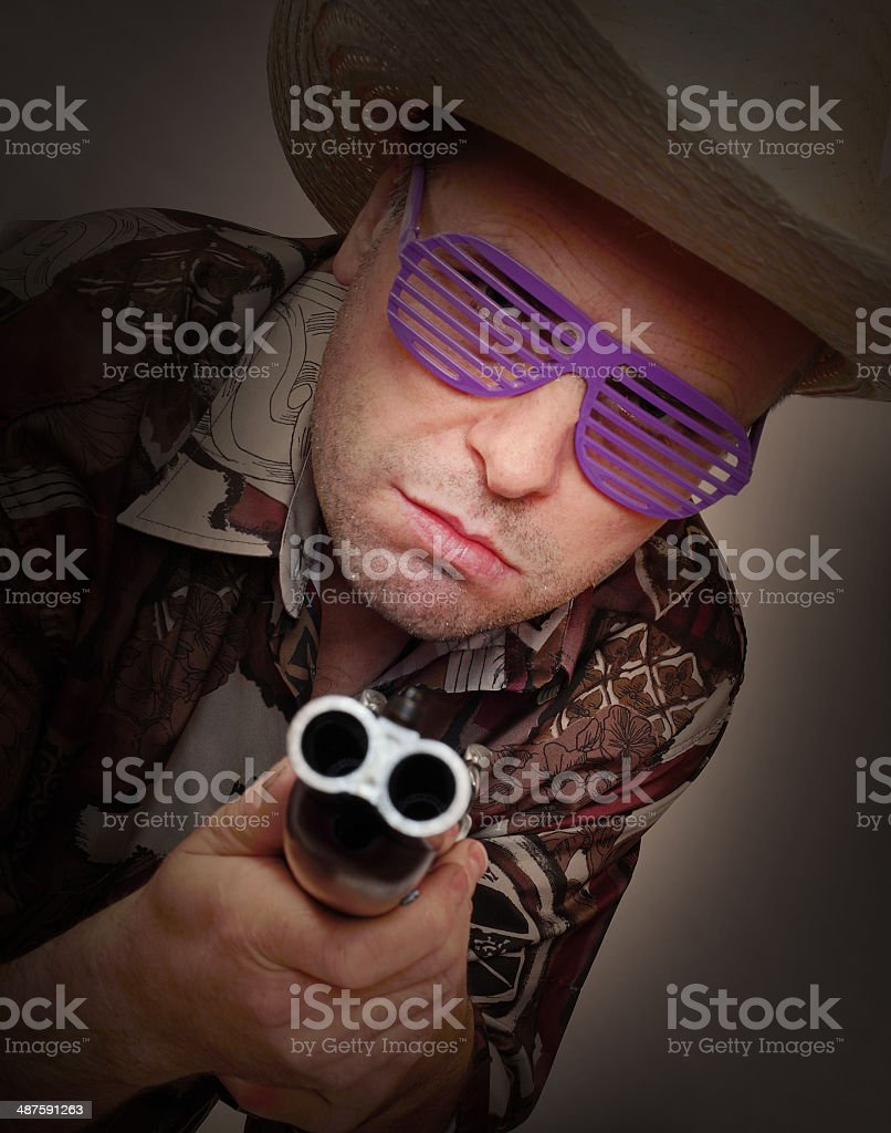 The Gangster, stock photo