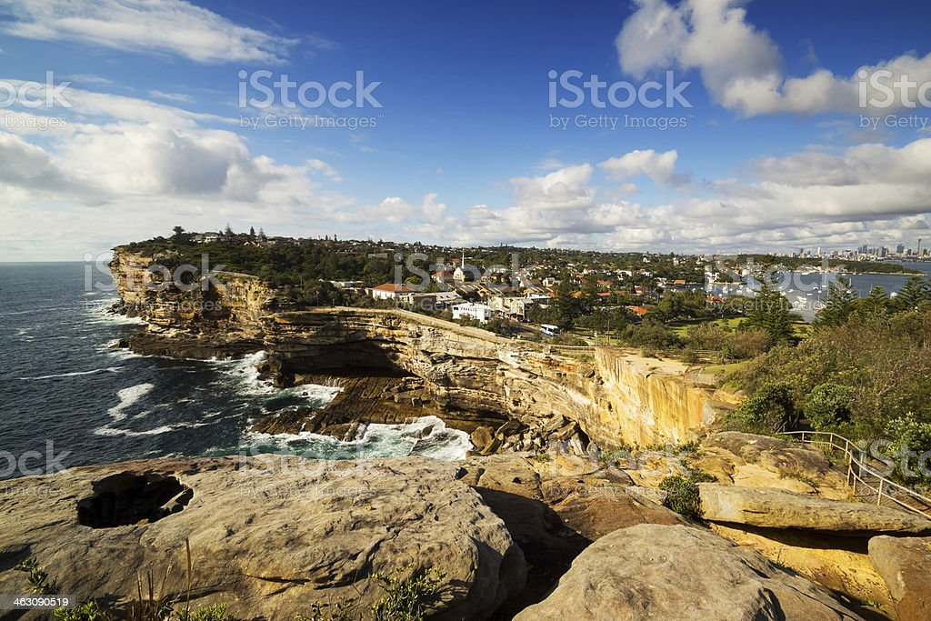 The Gap (Sydney) royalty-free stock photo