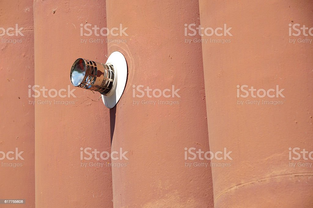 the gas vent stock photo