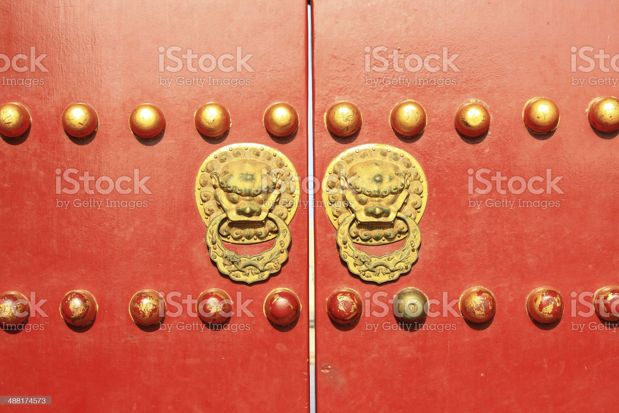 The gate in Beijing Temple of Heaven royalty-free stock photo