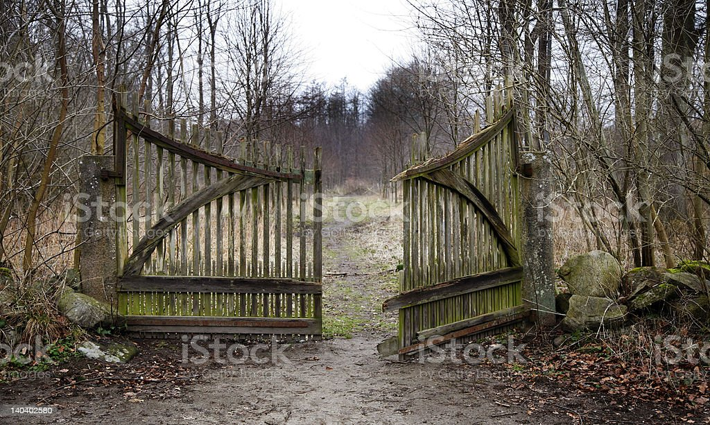 The Gate royalty-free stock photo