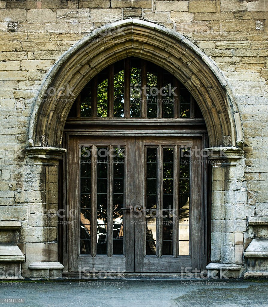 The Gate to the Church royalty-free stock photo