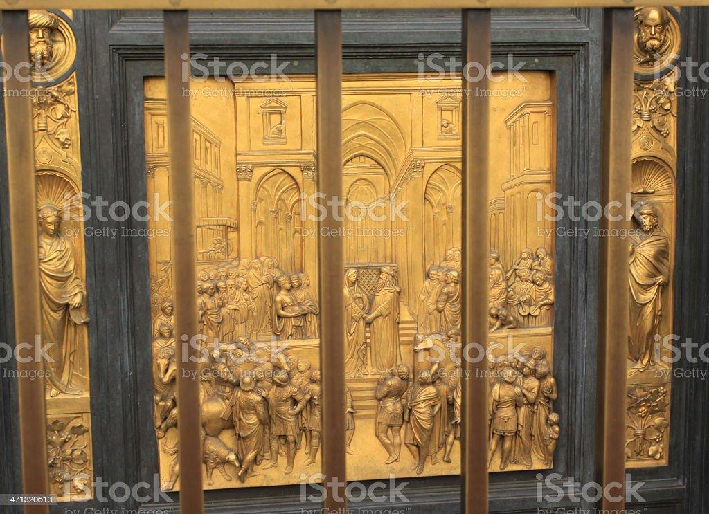 'The Gates of Paradise' royalty-free stock photo