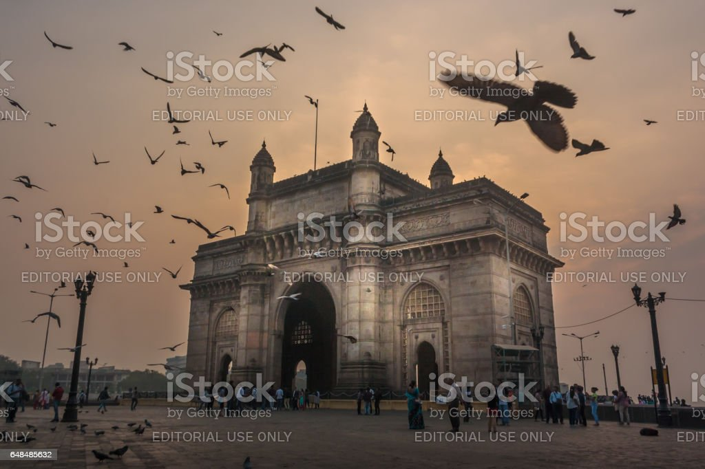 The Gateway of India stock photo