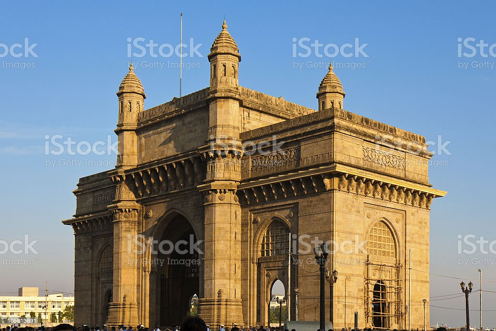 The Gateway to India royalty-free stock photo