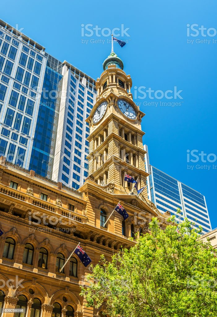 The General Post Office in Sydney, Australia stock photo