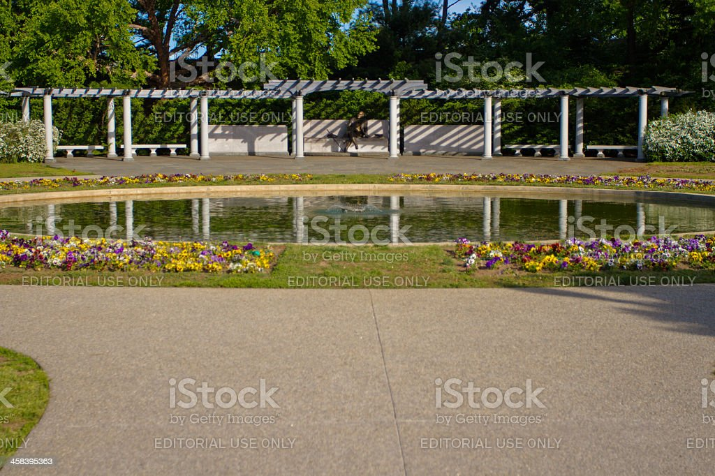 The George Mason Memorial in Washington DC during day stock photo