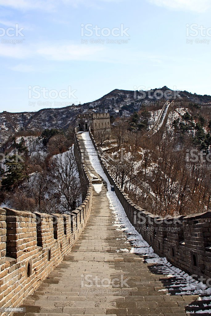 The gGreat Wall Walk stock photo