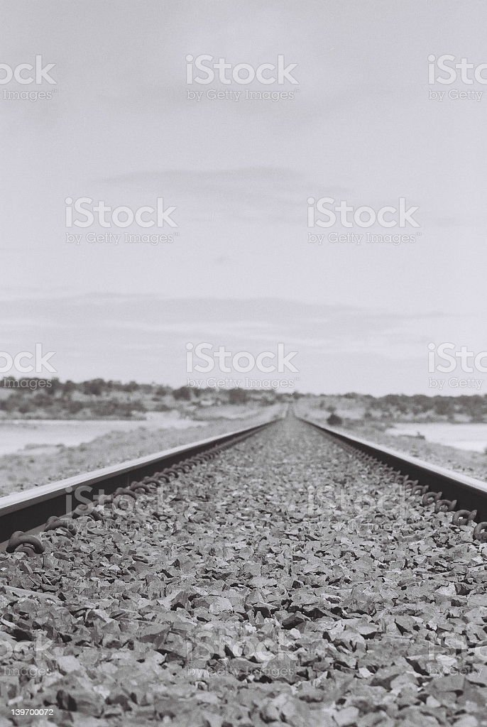 The Ghan stock photo