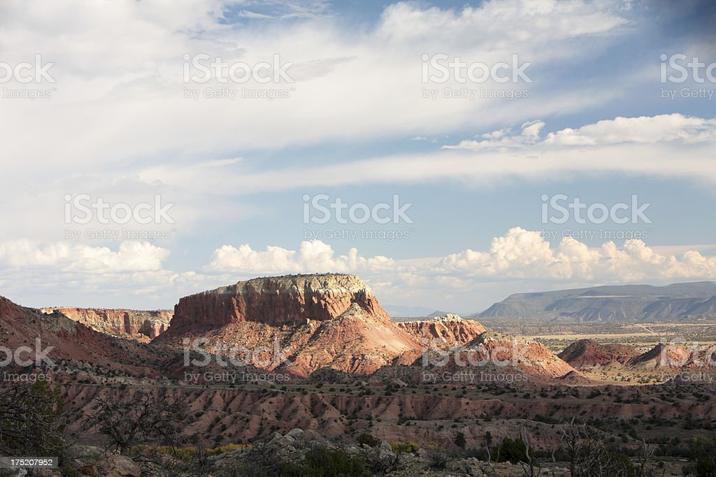 The Ghost Ranch stock photo