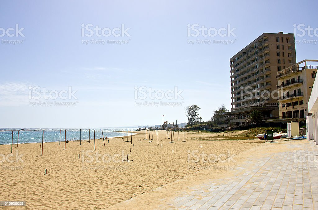 The Ghost Town of Europe stock photo