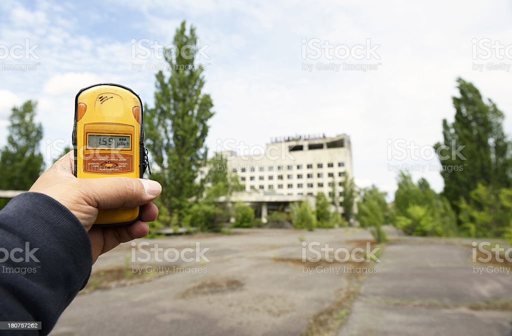The Ghost Town stock photo