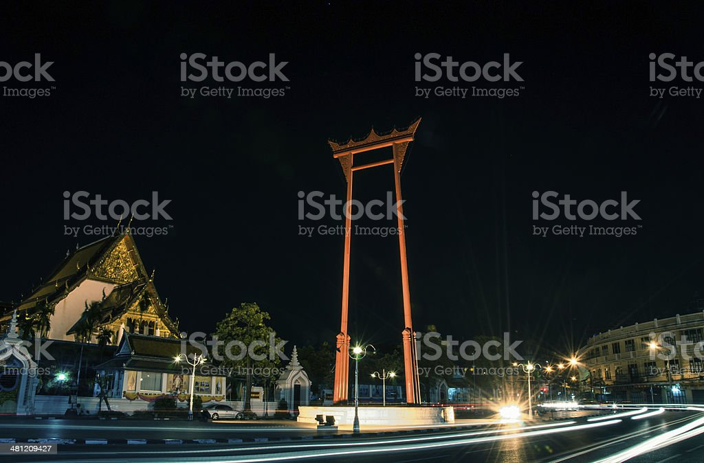 The Giant Swing stock photo
