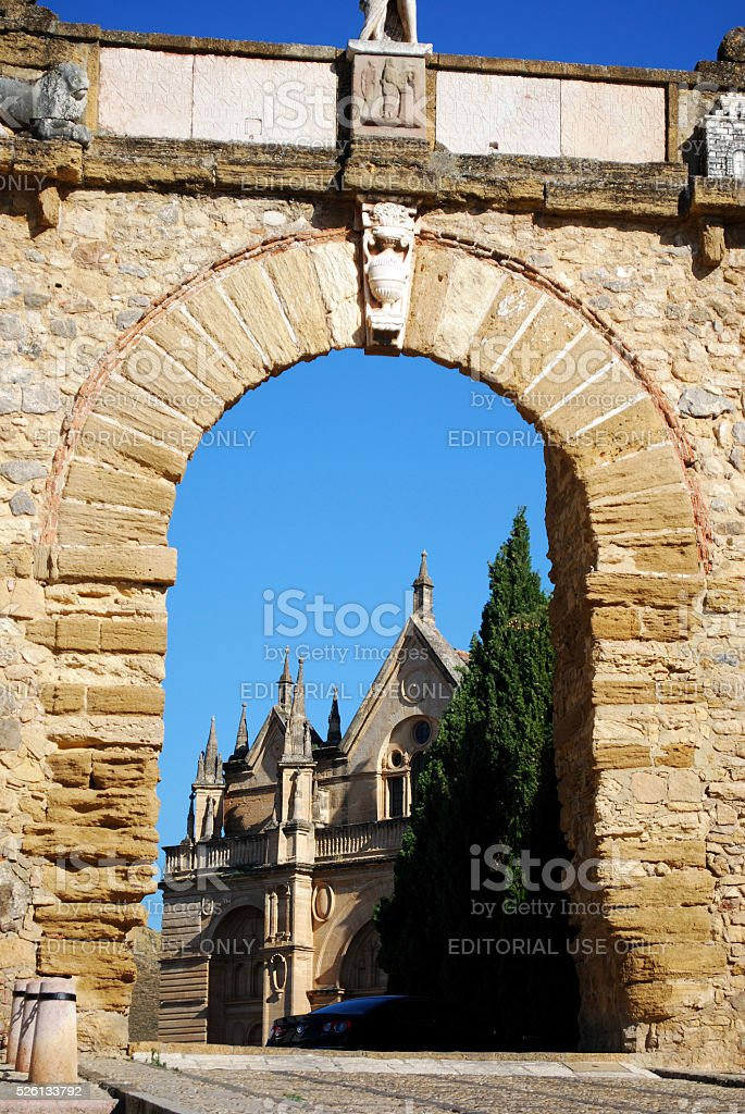 The Giants Arch, Antequera. stock photo