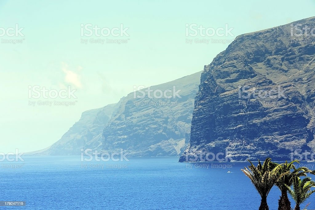 Los Gigantes royalty-free stock photo