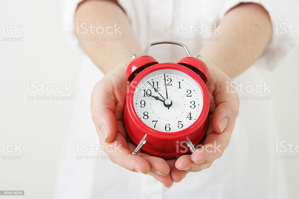 The Gift of Time stock photo