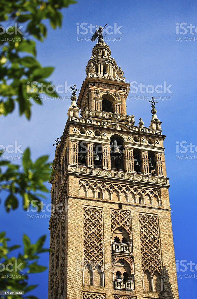The Giralda royalty-free stock photo