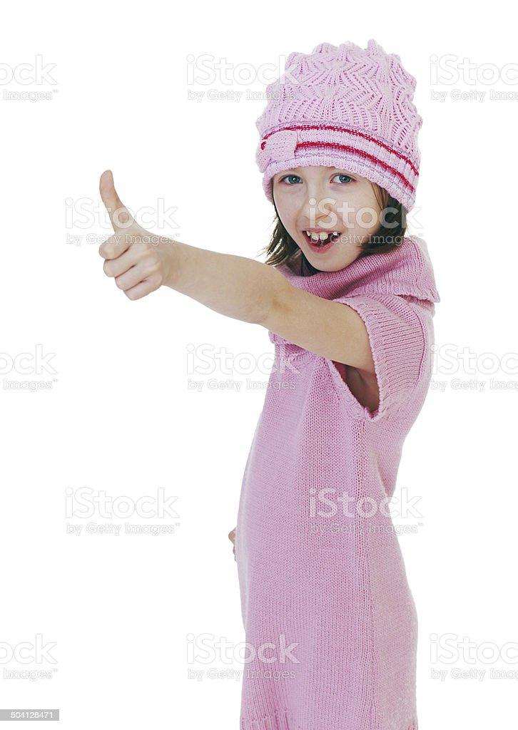La fille enfant photo libre de droits