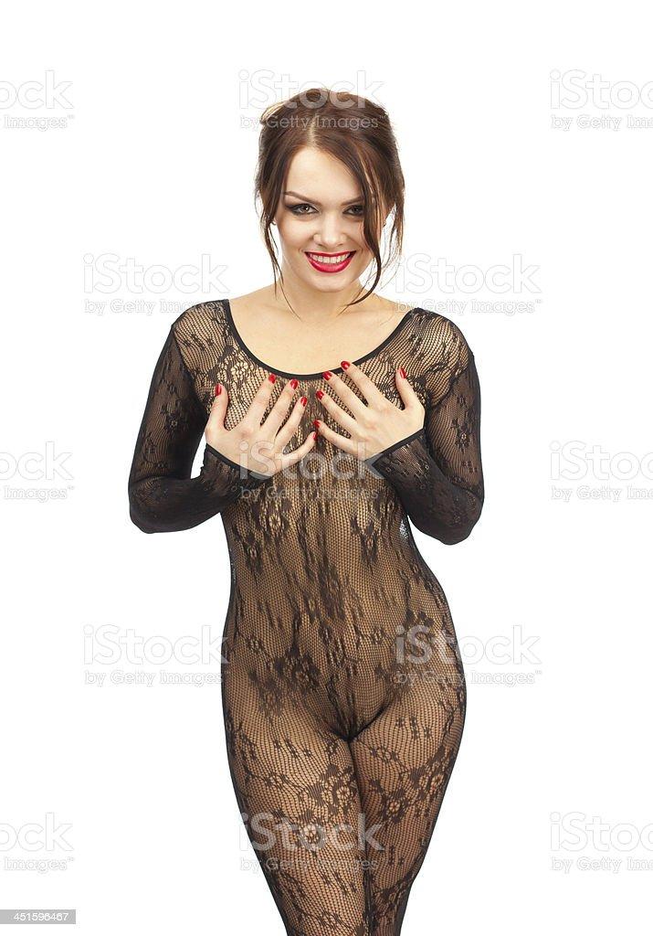 Девчонка в прозрачном платье фото