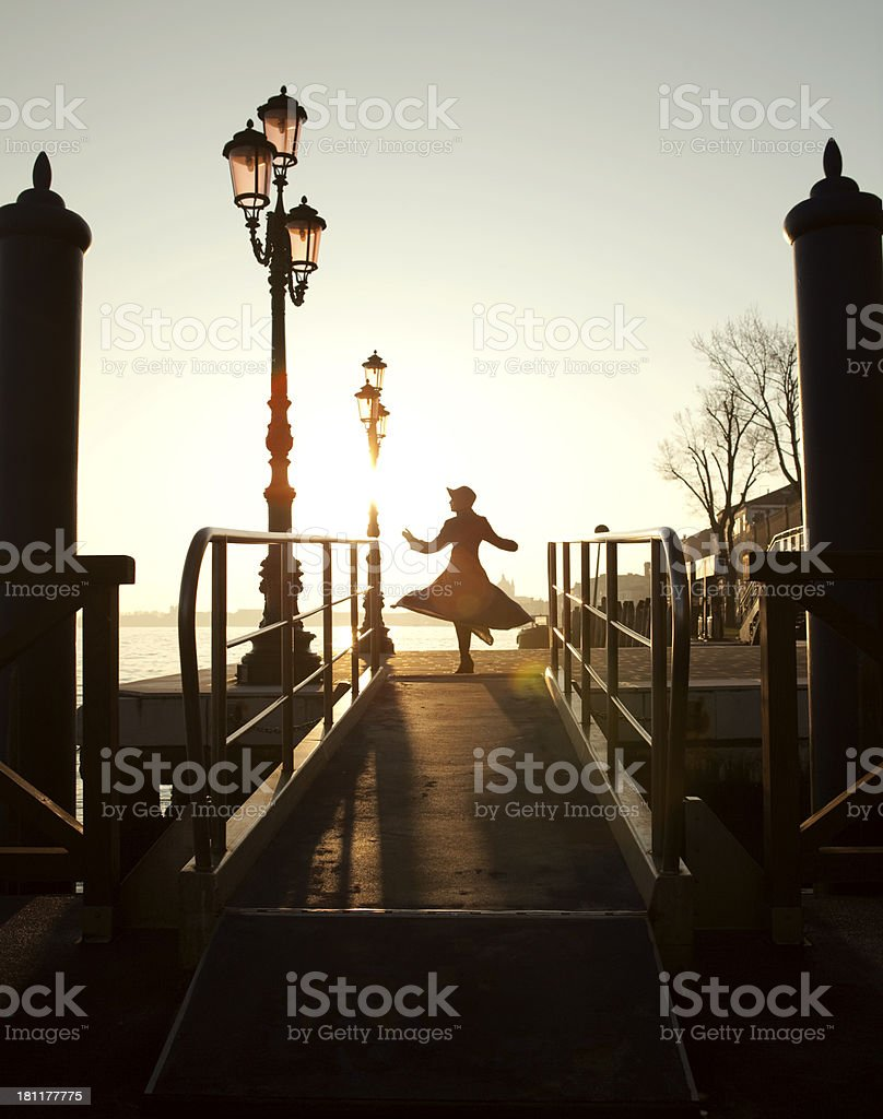 the girl royalty-free stock photo