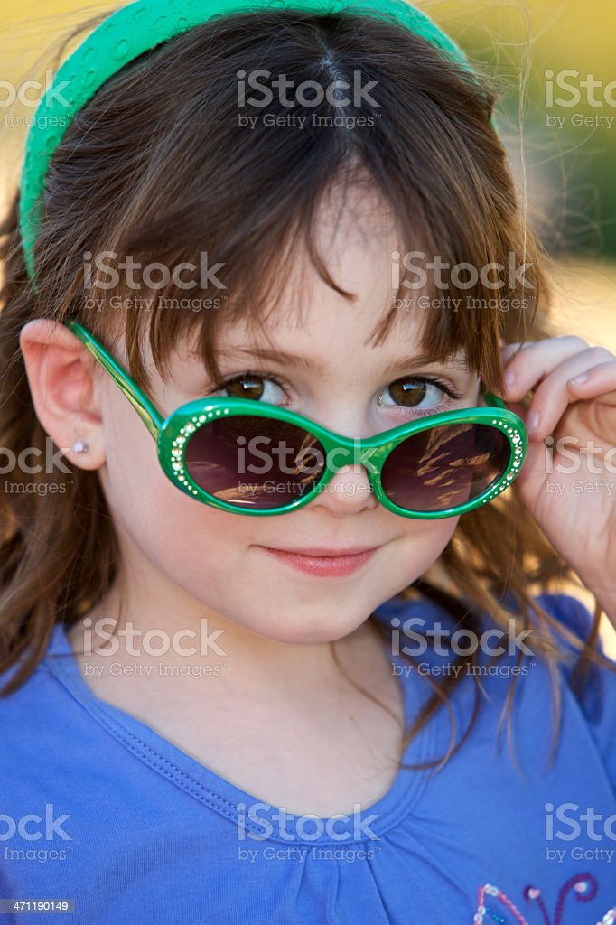 The Glance royalty-free stock photo